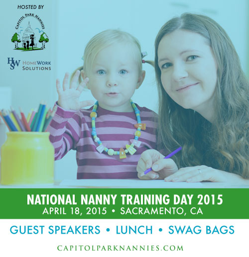 2015 National Nanny Training Day - Sacramento